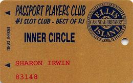 Ellis Island Casino LV Passport 3rd Issue Players Club Inner Circle Slot Card - Casino Cards