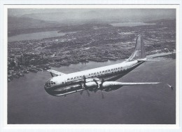Carte Postale NB, Avion, Stratocruiser, Boeing 377, Etats-Unis, 1947, Aviation Civile - 1946-....: Modern Era