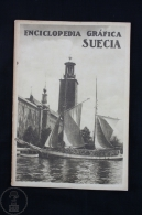 Old 1930 Sweden Graphic Encyclopedia By Vicente Clavel, Fully Illustrated - Libros, Revistas, Cómics