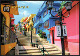 ECUADOR QUAYAQUIL - SANTA ANA'S HILL STAIRS - Ecuador