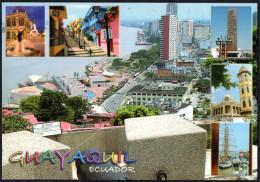 ECUADOR QUAYAQUIL - VIEW FROM SANTA ANA HILL TO MALECON 2000 - Ecuador