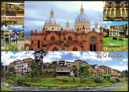 ECUADOR CUENCA - IMMACULADA CATHEDRAL / FRUIT MARKET / FLOWER MARKET / THE GREEN HOUSE / TOMEBAMBA'S PRECIPICE - Ecuador
