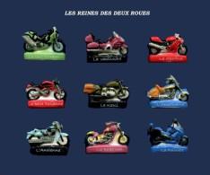 SERIE DE FEVES COMPLETES  LA MOTO REINES DES DEUX ROUES     2016 - Charms
