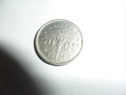 50 Centimes 1922 Type Bonnetain En Français - 06. 50 Centimes
