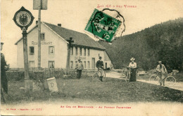 DOUANE(FRONTIERE) LE COL DU BONHOMME - Customs