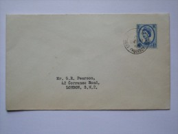 GB 1966 PAQUEBOT COVER STORNAWAY ISLE OF LEWIS - Emissions Locales