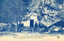 DOUANE(FRONTIERE) VALLON DE LA MADONE(SAINT MARTIN VESUBIE) - Customs