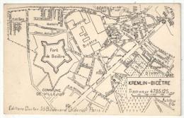 94 - KREMLIN-BICETRE - Plan - Editions Ductor - Kremlin Bicetre