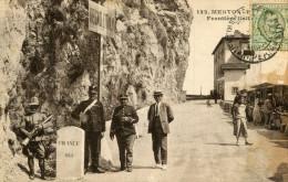 DOUANE(FRONTIERE) MENTON - Customs