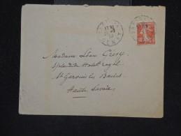 FRANCE - Type Semeuse Sur Enveloppe En 1913 -  A Voir - Lot P12179 - 1877-1920: Période Semi Moderne