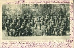 Cp Gliwice Gleiwitz Schlesien, Musikkorps Des Inf. Regt. Keith 1. Oberschlesisches Nr 22 - Schlesien