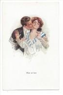 13273 - Couple Amoureux Mine At Last Editeur John Neury Genève - Paare