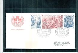 1 FDC Ordre De Malte 1968 -Série Complète - Malte (Ordre De)