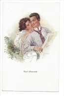 13276 - Couple Amoureux Read Afterwards Editeur John Neury Genève - Couples