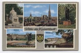 AUSTRIA ~ Multi View VIENNA Wein-die Kaiserstadt C1960 Postcard - Magazines: Subscriptions