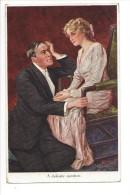 13278 - Couple A Delicate Question Editeur John Neury Genève - Couples