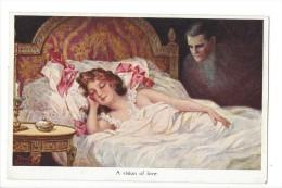 13279 - Couple A Vision Of Love Editeur John Neury Genève - Koppels