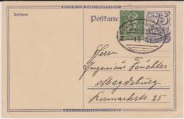 DR Infla Postreiter P 146 ZF Bahnpost Köln - Hannover Gepr BPP 1922 - Allemagne