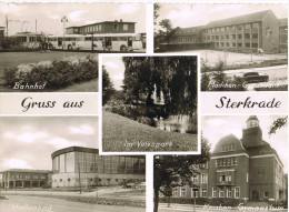AK Gruß Aus Oberhausen-Sterkrade, 5 Ansichten 1959 - Oberhausen