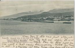 Tenerife    General View Of Sta Cruz From The Sea.  -  1904  Naar  Herck-la-Ville - Peñón De Vélez De La Gomera