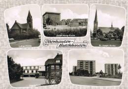 AK Gruß Aus Oberhausen-Buschhausen, 5 Ansichten 1969 - Oberhausen