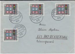 Bund Mi 468 (4) Verkehrsausstellung MeF Bf Saarbrücken 1966 - [7] République Fédérale