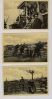 Reeks 10 Postkaarten Met Foto's 14-18 - Guerre 1914-18