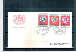 1 FDC Ordre De Malte 1971 -Série Complète - ONU - Réfugiés - Malte (Ordre De)