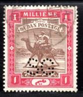 SUDAN SOUDAN - 1900 /  S G / PERFORE / PERFORIERT / PERFORA / PERFIN / PERFORIERT / PERFORATI - Soudan (1954-...)