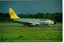 AVIATION - D-ABFT CONDOR - BOEING 737 -  HEATHROW SUPACARD A32 Ap88 - 1946-....: Moderne