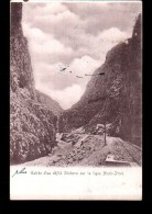 SERBIE Chemin De Fer, Entrée Défilé Sitchevo, Ligne Nisch Pirot, Ed ?, 1904, Dos 1900 *** A LOCALISER *** - Serbie
