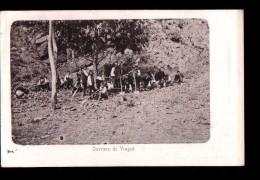 SERBIE Chemin De Fer, Ouvriers De Vragné , Vranje, Chantier, Ed ?, 1904, Dos 1900 *** A LOCALISER *** - Serbia