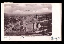 SERBIE Pirot, Vue Générale, Forteresse, Remparts, Ed ?, 1904, Dos 1900 - Serbia