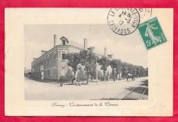 27-Bernay-Cantonnement De La Cidrerie-cpa écrite 1912 - Bernay