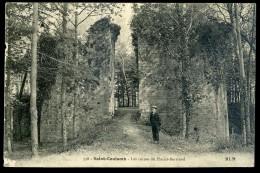 Cpa  Du 35  Saint Coulomb -  Les Ruines Du Plessis Bertrand   PAR6 - Saint-Coulomb