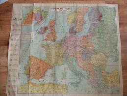 Carte Europe Politique En Mai 1940 Envahissements Occupations Maimise Allemande Ou Russes - Geographical Maps