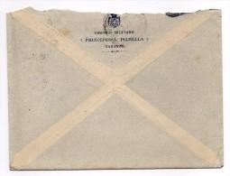 1927 - TARANTO - Circolo Militare - Principessa Isabella - Storia Postale Regno - 1900-44 Victor Emmanuel III.
