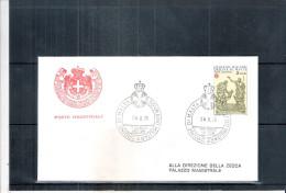 1 FDC Ordre De Malte 1976 -Série Complète - Malte (Ordre De)
