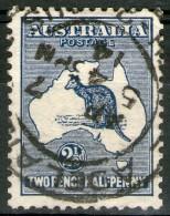 AUSTRALIE: N°4 Oblitéré       - Cote 20€ - - 1913-48 Kangaroos