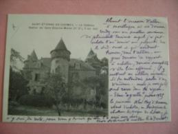 CP CALVADOS - ST ETIENNE DE CHOMEIL - LE CHATEAU- ECRITE EN 1930 - France