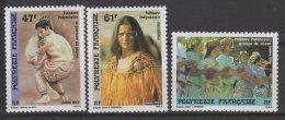 Polynésie Française N° 333 / 335 Luxe ** - Französisch-Polynesien