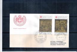 1 FDC Ordre De Malte 1979 -Série Complète - Malte (Ordre De)