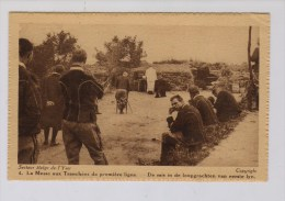 Mis In Loopgraven Eerste Linie [Yzer] - Guerre 1914-18