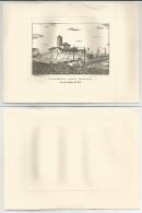 MODENA (174) - CONCORDIA SULLA SECCHIA Da Una Incisione Del 1870 - CARTONCINO NON POSTALIZZATO - Modena