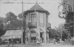ARCACHON, RUE FRANCOIS XAVIER ET ROUTE DU PYLA, EPICERIE DUPUY - Arcachon