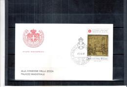 1 FDC Ordre De Malte 1982 -Série Complète - Malte (Ordre De)