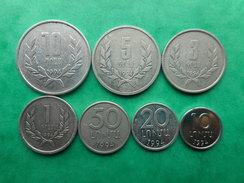 Armenia 10,20,50 Luma 1,3,5,10 Dram 1994 (Lot Of 7 Coins) - Arménie