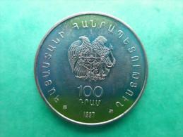 Arménie 100 Dram 1997 Écrivain Yeghishe Charents - Armenia