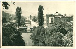 Sarajevo Postcard Travelled 1952 Bb151106 - Bosnie-Herzegovine