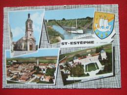33- ST ESTEPHE - CARTE MULTI-VUES  - - Frankrijk